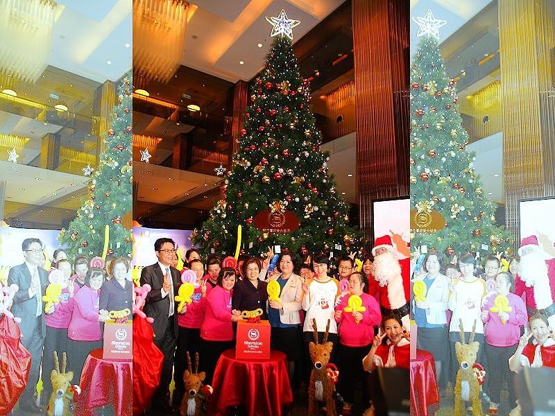 歡樂迎聖誕 企業點燈並為天使兒童發聲