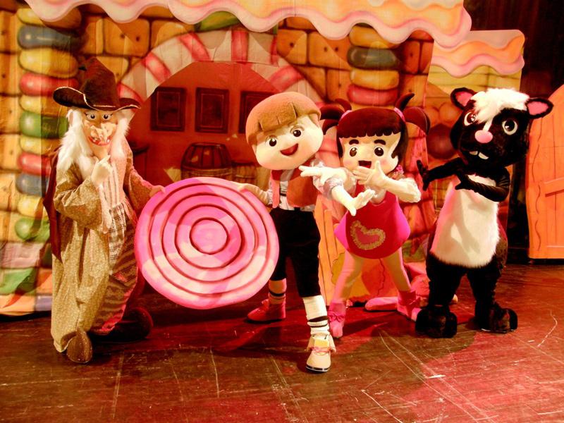 《糖果屋》的甜蜜誘惑 小青蛙劇團屯區藝文中心演出
