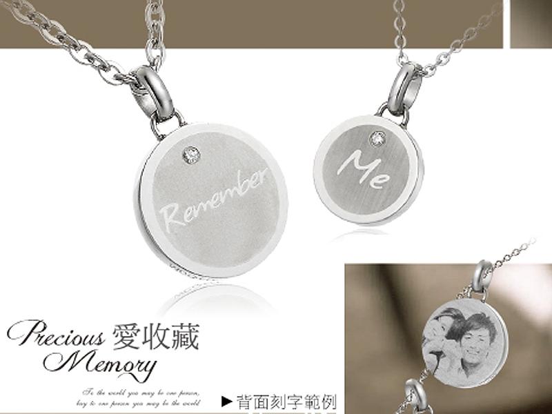 2015高雄情人節禮物推薦 客製化鋼飾項鍊對戒