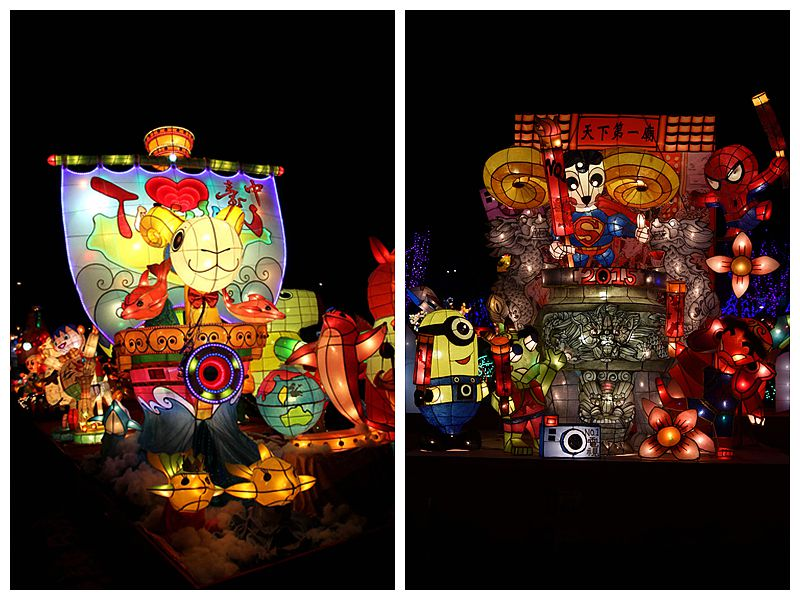 2015台灣燈會-競賽燈區 燈藝高手傳承技藝 花燈素人齊飈創意