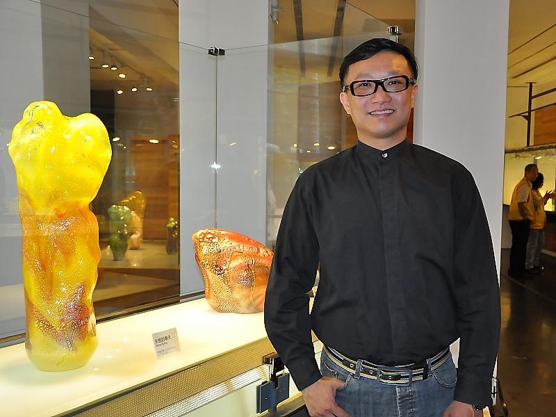 新竹市玻璃工藝博物館展出兩檔創作展